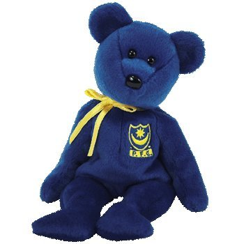 TY Beanie Baby - POMPEY the Bear (UK Portsmouth Football Club Exclusive) 8a3d724ec51d
