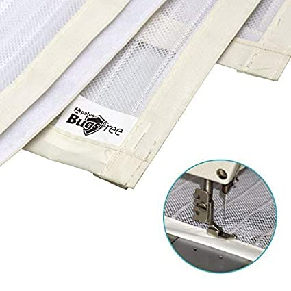 Apalus Magnetic Screen Door Walk Through Easily 90x210CM Super Strong Fly Mesh 28 Magnets from Top to Bottom Ultra Seal Magnets Close Automatically