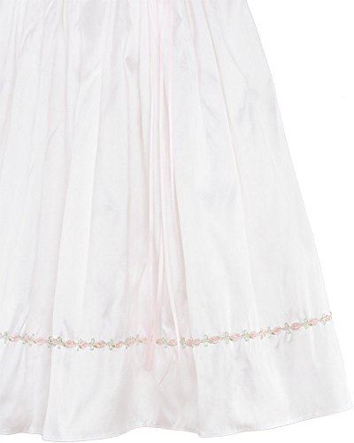 Tess 18 Month Silk Christening Baptism Blessing Gown for Girls, Made in USA by One Small Child (Image #4)