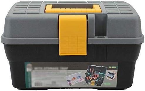 ChenCheng ツール収納ボックス - 多機能インナーボックスツールボックスポータブルカーポータブル修理ツール収納ボックス ツールボックスストレージと組織 (Size : 255mmX175mmX175mm)