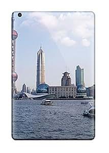 Faddish Phone Shanghai City Case For Ipad Mini 3 / Perfect Case Cover 2646756K61552049