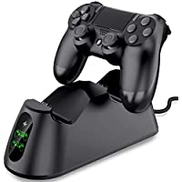 PS4 Controller Charger, BEBONCOOL PS4 Wireless Charger...