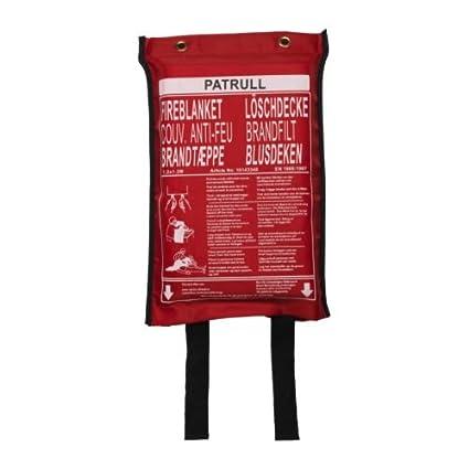IKEA PATRULL – manta de fuego – 120 x 120 cm