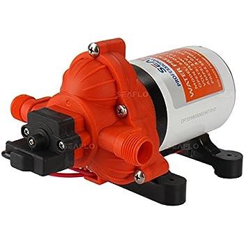 Diaphragm Pump 12v 8l Min High Pressure Self Priming Water Pump With Average Working Pressure