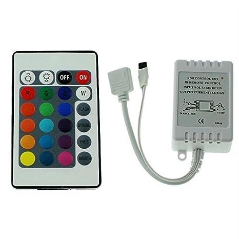 ALED LIGHT LED RGB Strip IR Remote Controller Fernbedienung Kontroller Steuerung für 3528 5050 IP 65 LED Streifen Licht IR RF