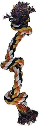 (Penn Plax Su 3-Knot Dog Rope Toy, Cold/Ruff)