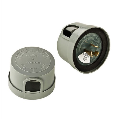 Precision EC120-AP-TD - Photo Control - Electronic Series Locking-Type Mount - Lightning Arrestor - 120 Volt