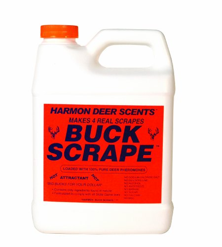 - Harmon Scents - Buck Scrape - HBSP - Hunting Scents - 2.2 lbs. - Deer Scrapes - Deer Hunting Attractant - Whitetail