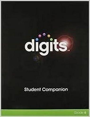 Amazon.com: DIGITS STUDENT COMPANION GRADE 6 (9780133180947 ...