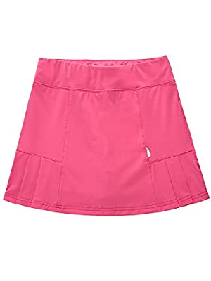 Women's Active Athletic Underneath Skorts Lightweight Skirt Running Tennis Golf Workout