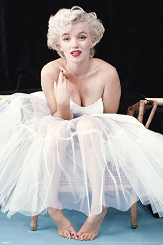 Pyramid America Marilyn Monroe Ballerina Color Movie Poster 24x36 inch