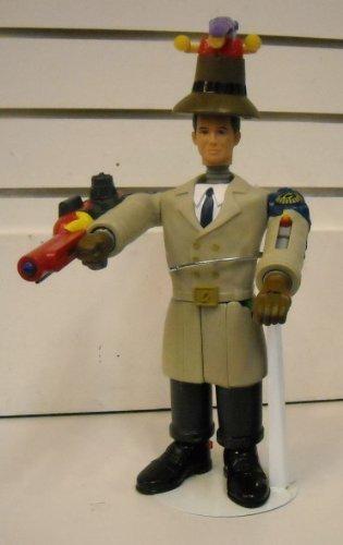 Mcdonalds Toy Figure - Inspector Gadget Build Your Own Figure McDonald's Promotional Toy 8 Piece Set