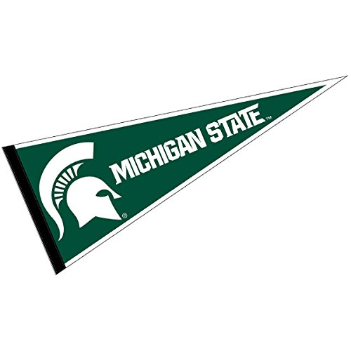 College Flags and Banners Co. MSU Spartans Pennant Full Size Felt