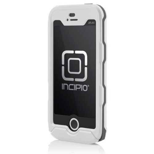 new products c182d 870cf Incipio iPhone 5s Waterproof Case, [Atlas ID] Rugged Shockproof Waterproof  Case fits iPhone 5, iPhone 5s, and iPhone SE - White