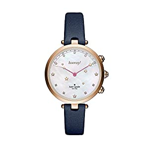 kate spade new york Leather Holland Hybrid Smart Watch