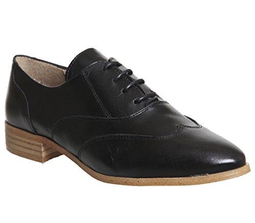 Office Francesca Vintage Lace up Black Groucho wlwai01EJ