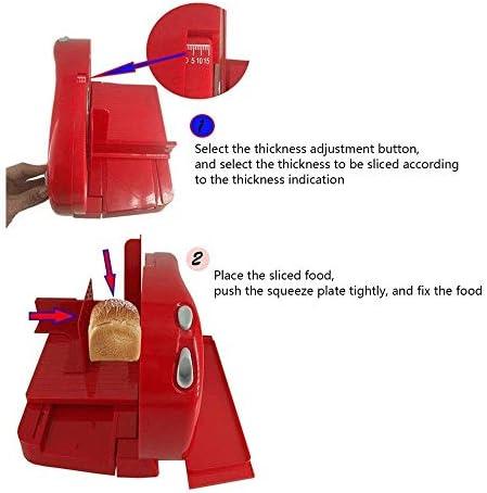 Z-COLOR Vlees Deli Kaas Eten Slicer Professionele roestvrijstalen blade elektrisch Heavy Duty Gear Driven 220V 100 Watt
