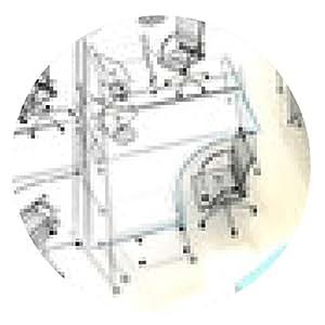 alfombrilla de ratón escritorios de oficina de coworking, oficina, puesta en marcha - ronda - 20cm