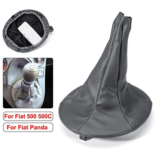 Car Gear Shift Collar Gaiter Boot Cover For FIAT PANDA 2003-2012 500 500C - 2003 Panda