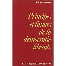 Principes et limites de la démocratie libérale