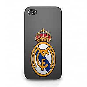 Classical Logo Style Real Madrid CF Phone Case Cover for Iphone 4 4s Real Madrid Awesome Logo Design