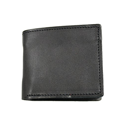 Folded wallet Natural Tanned Black Tanned Leather Natural XwBRvHnxqI