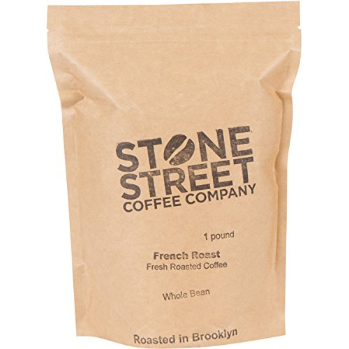 FRENCH ROAST Whole Bean Coffee | Dark Roasted | 1 Lb Resealable Bag | Full-Body, Balanced, & Bold