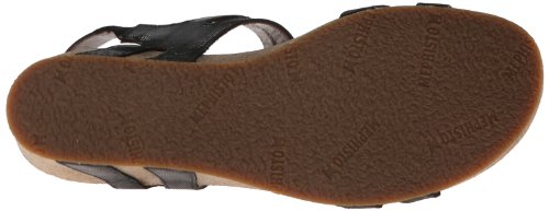 Mephisto Womens Leather Sandals Minoa Black HgaFHn