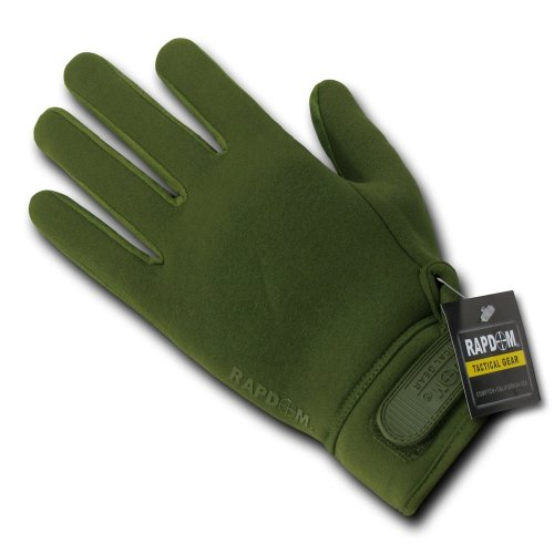 rene Patrol Gloves, Olive Drab, Large ()
