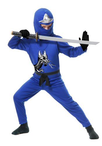 Kids Blue Ninja Costume - Blue Ninja Avenger II Toddler Costume
