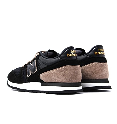 New Balance M770SKF Made in England Black & Mushroom Brown Trainers