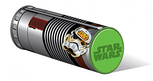 1art1 Star Wars Pencil Case - Lightsaber (8 x 3 inches)