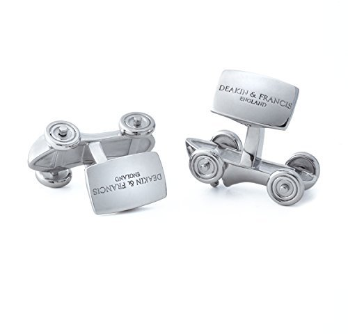 Deakin-and-Francis-Silver-Rhodium-Racing-Car-Cufflinks