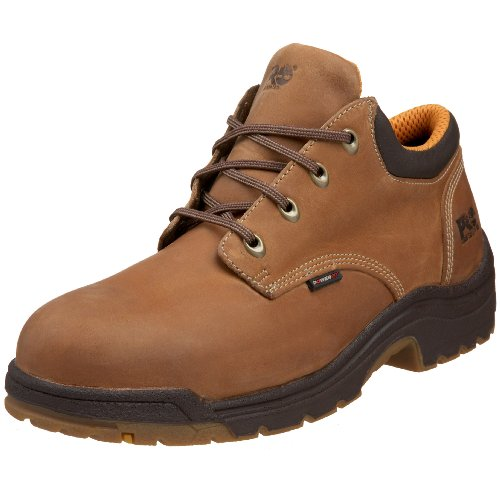 Timberland PRO Men's 40045 Titan Safety Toe Oxford,Trail Brown,7 - Oxford Titan Mens