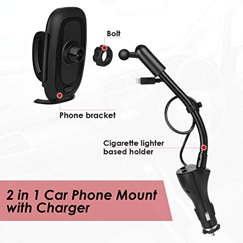 Buy car cell phone holder charger