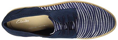 Combi Clarks Basses Lola Navy Bleu Lillia Femme Sneakers 70qzPRFw0
