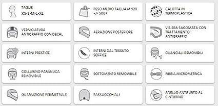 M PANTALLA AVIADOR CASCO JET 109V-FSA-10 TITANIO OPACO SANTA MONICA