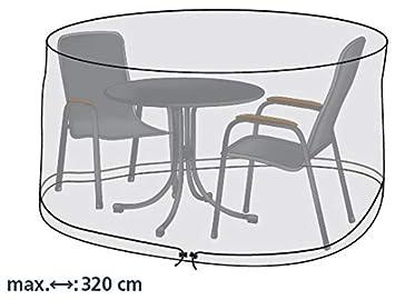 Gartenstuhl-Kissen - Funda Protectora para Mesa Redonda y sillas de ...
