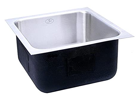 Genial Just USADA1824A,5.5,DRR 18 Gauge Undermount Single Bowl Ada Stainless Steel  Sink