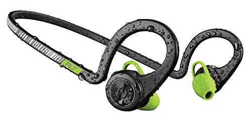 - Plantronics BackBeat FIT Wireless Bluetooth Headphones - Waterproof Earbuds with On-Ear Controls for Running and Workout, Black Core