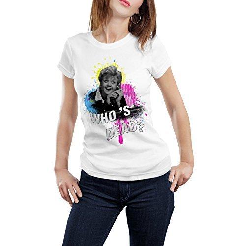 T Bianco Jessica Shirt Donna wallshirt Giallo Signora La in fPxACwvq