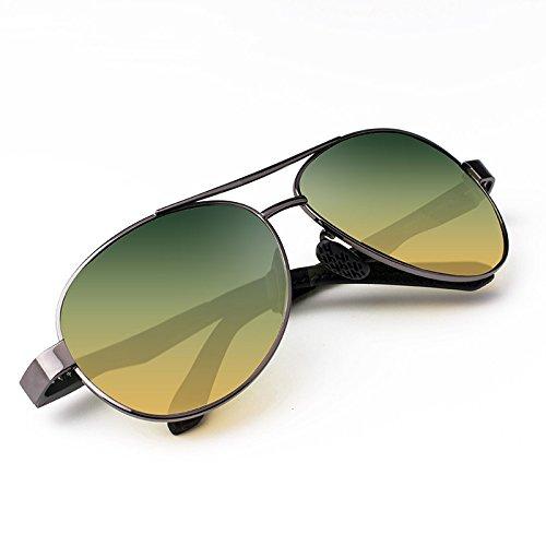 Zhangxin Lunettes de soleil polarisées, dames, lunettes de soleil polarisées, lunettes de soleil jour et nuit de voyage et de loisirs.