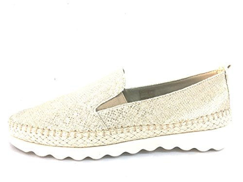 Donna Silver Flexx Ballerina The C122 08 Scarpa Pelle Or Xgwqdxzq