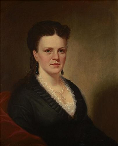 Oil Painting 'George Caleb Bingham,Mariah Chandler McPherson,1855-1860' 20 x 25 inch / 51 x 63 cm , on High Definition HD canvas prints is for Gifts And Foyer, Kids Room And Kitchen Decoration, sale (Headboards Sale For Mantle)