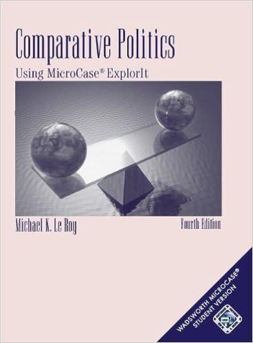 Amazon.com: Comparative Politics: Using MicroCase ExplorIt (with ...