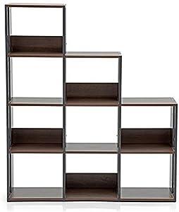 Urban Ladder Delany Display- Book Shelf (Wenge)