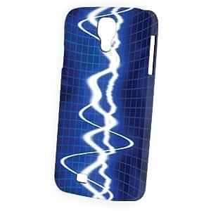 Case Fun Samsung Galaxy S4 (I9500) Case - Vogue Version - 3D Full Wrap - Sound Waves