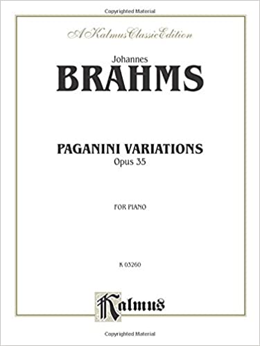 Paganini Variations Complete