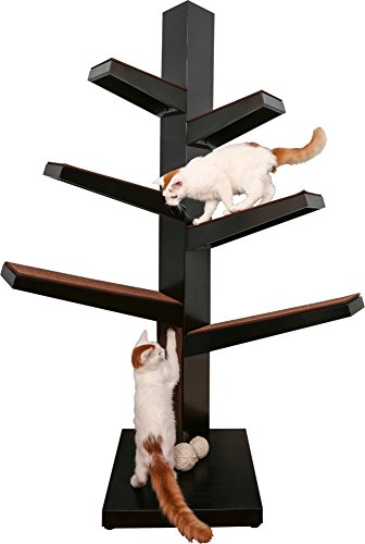 The Refined Feline CATALPA-ES Catalpa Cat Tree, Espresso