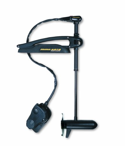 "Minn Kota Maxxum 70 Bow-Mount Trolling Motor with Foot Control and Bowguard (70-lb. Thrust, 52"" Shaft)"